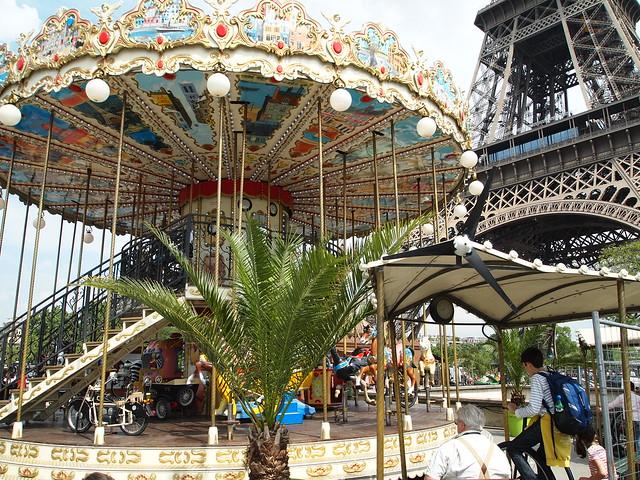 P5271752 エッフェル塔(La tour Eiffel) paris france パリ