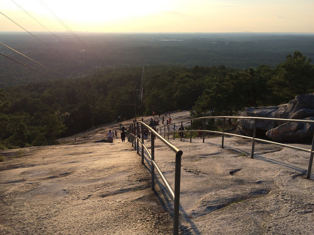 Steep Trail Stone Mountain - Copyright Travelosio