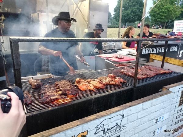 Brickyard BBQ grill