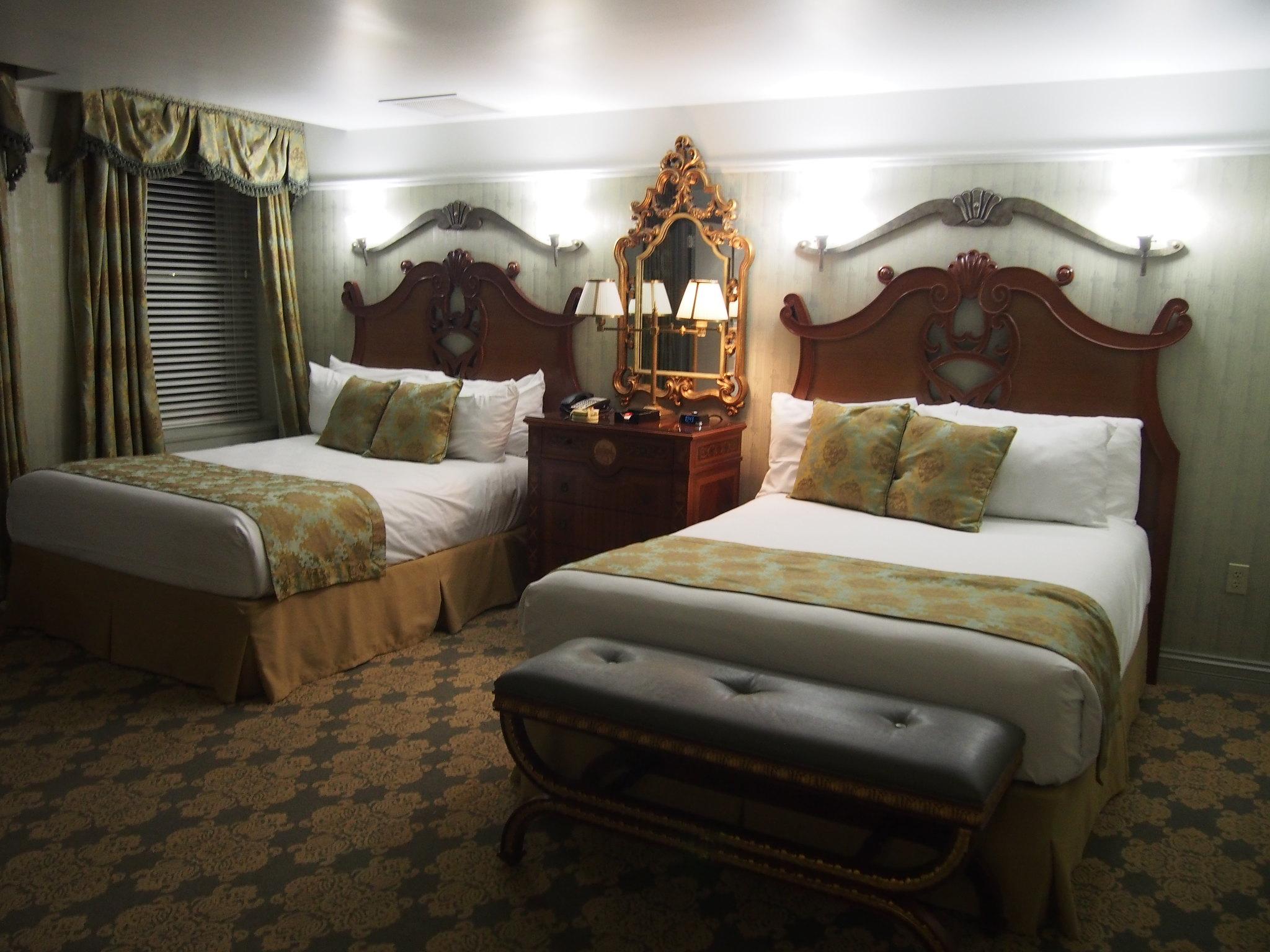 West Baden hotel room