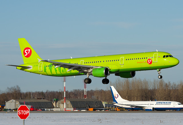 VQ-BQH S7 - Siberia Airlines Airbus A321-211