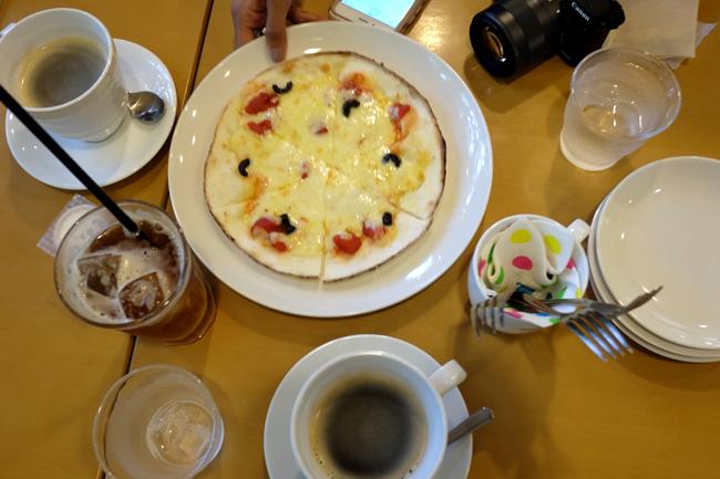 pizza cafe arashiyama