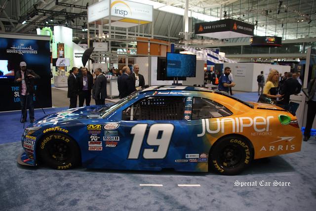 Daniel Suárez NASCAR Toyota Camry Race Car No 19