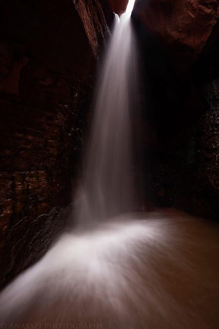 Glowing Falls