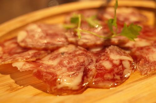 Il salame di iberico