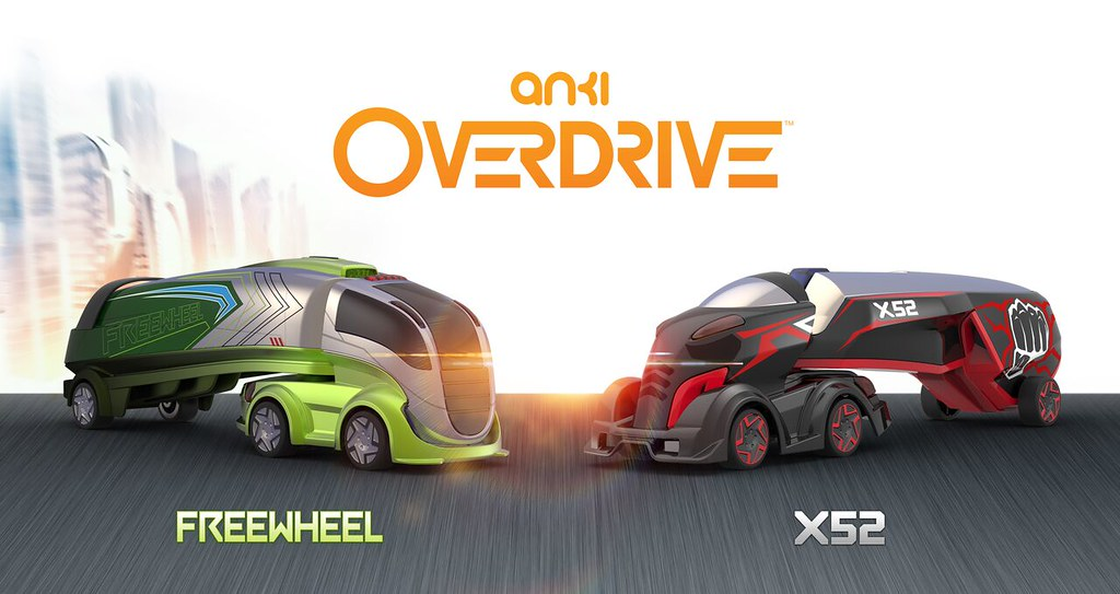 Anki Overdrive Supertruck Freewheel Vehicle