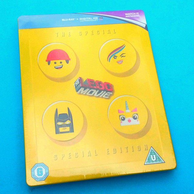 The LEGO Movie The Special Special Edition Steelbook