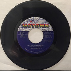 THE JACKSON 5:MAY BE TOMORROW(RECORD SIDE-A)