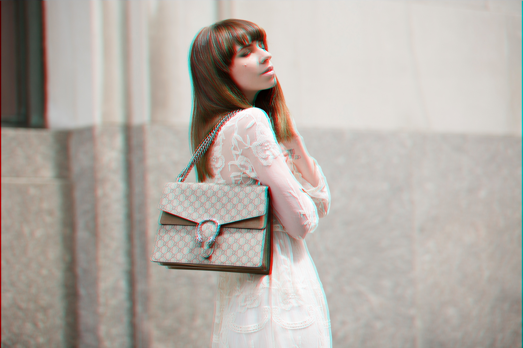 white dress edited the label editedgirls lace bride wedding style fashion fashionblogger new york style streetstyle look lookbook brunette bangs gucci dionysus sam edelman ootd ootn berlin blogger cats & dogs ricarda schernus 2