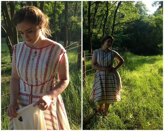 It's Finished! // 1950's Wrap Dress