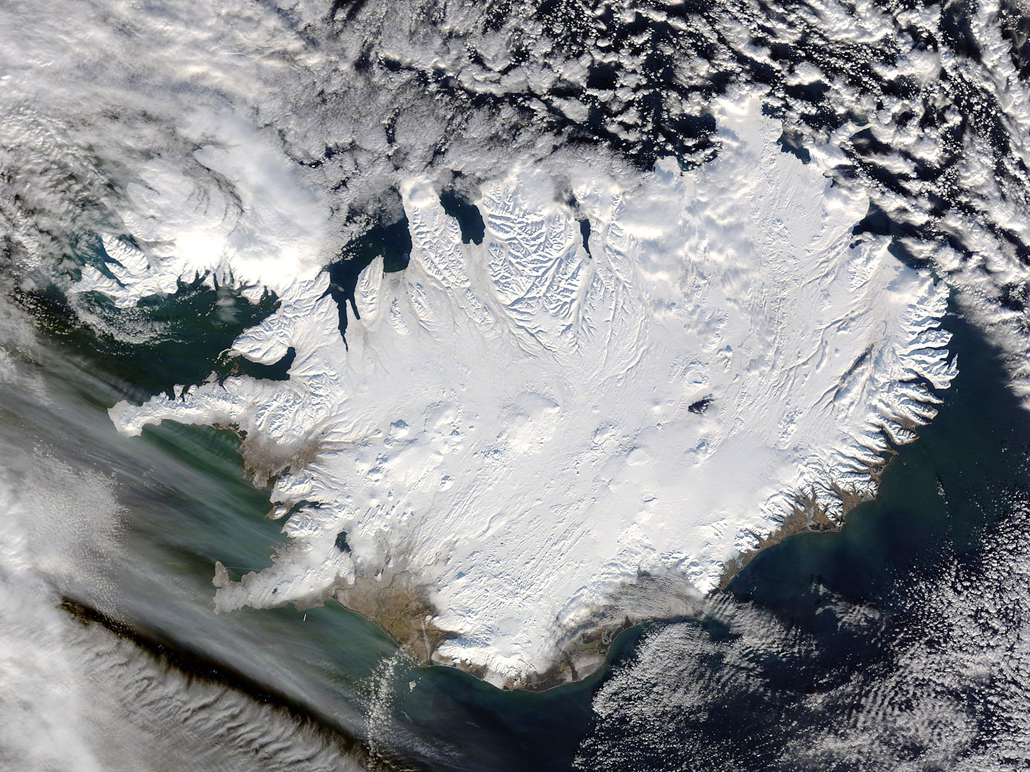 Iceland by NASA