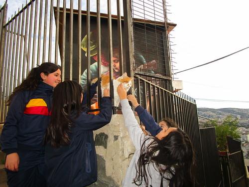 Murales del cerro Larraín