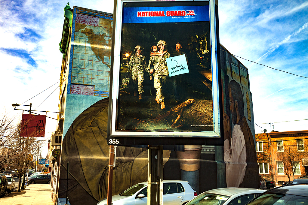 NATIONAL-GUARD-recruiting-billboard-on-3-22-15--South-Philadelphia