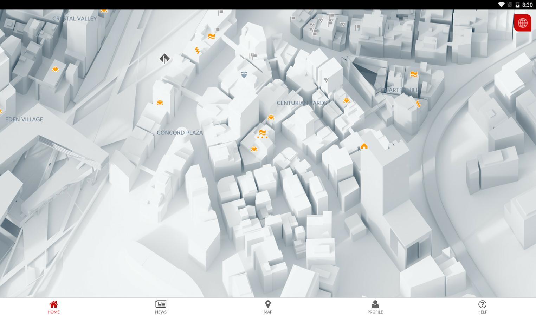 me app map