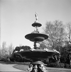 Coalbrookdale Fountain, Mesnes Park, Wigan
