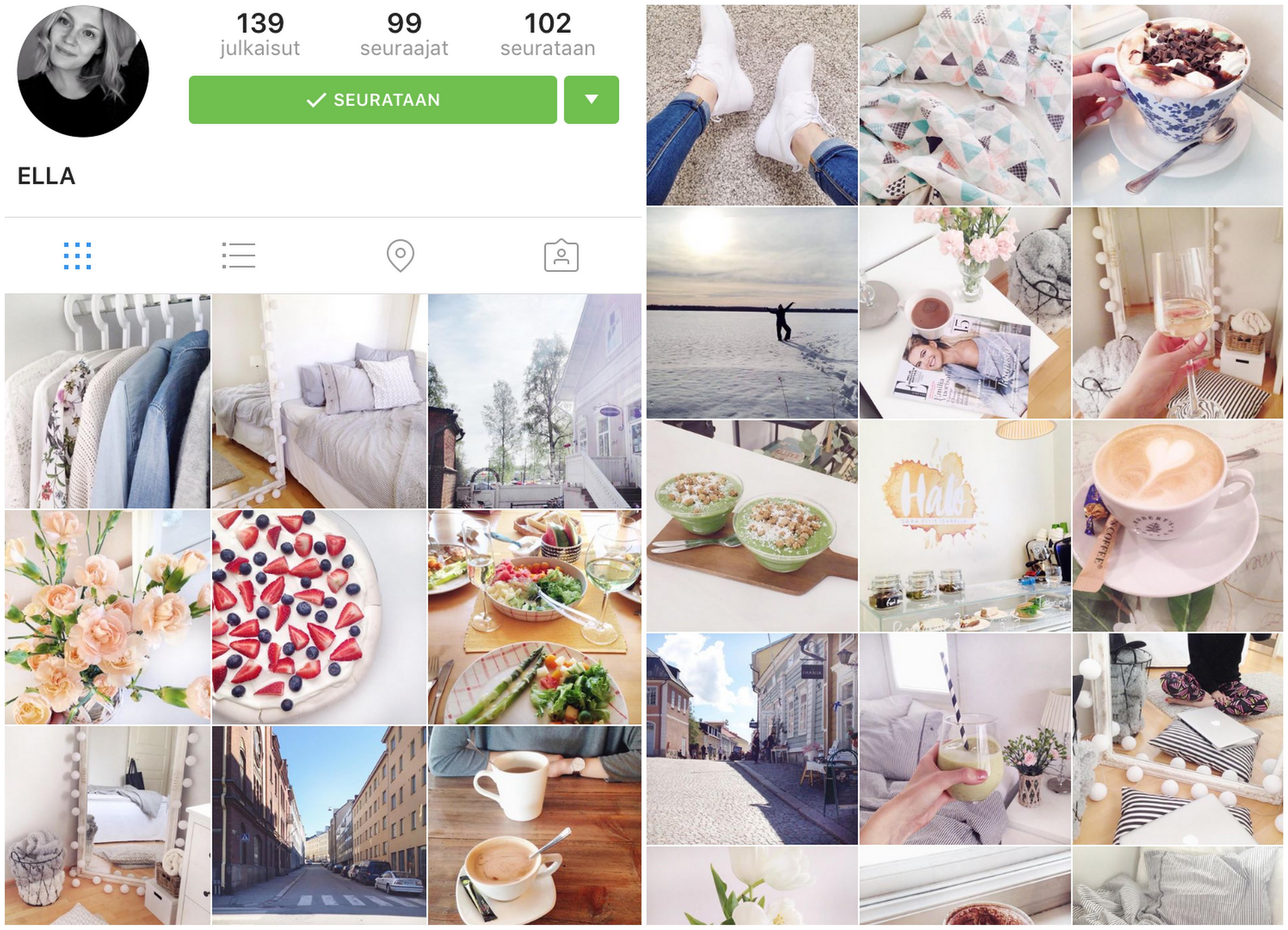 Instagram seuraajat