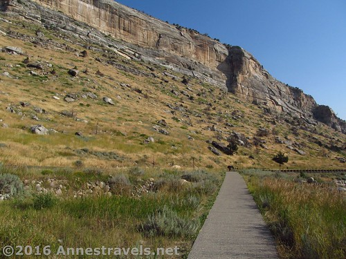 The Rise Trail, Sinks Canyon State Park, Wyoming