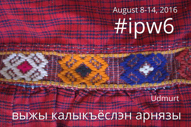 Indigenous Peoples Week in Udmurt language