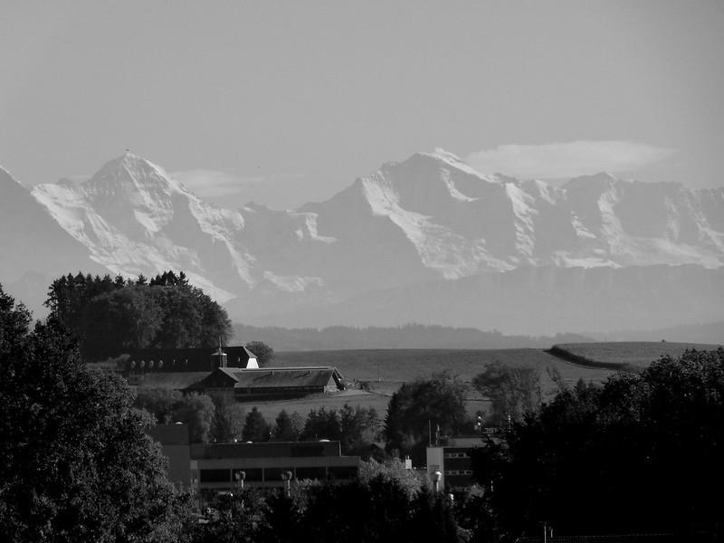 Swiss Alps seen from Feldbrunnen