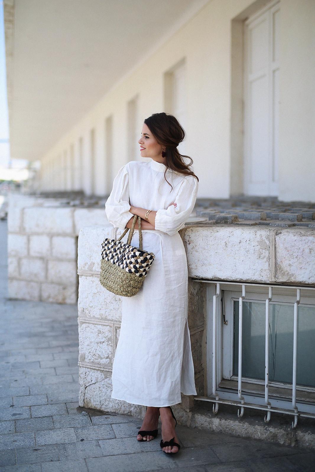 jessie chanes seams for a desire zara vestido lino capazo rafia-10