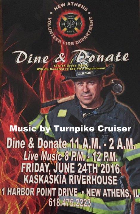 Dine & Donate 6-24-16