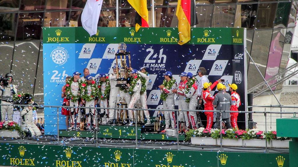LMP1 podium