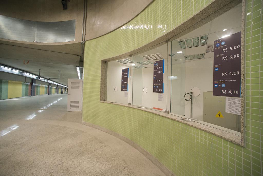 Conclusão das obras na Estação São Conrado