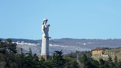 Kartlis Deda Statue overlooking Tblisi, Georgia