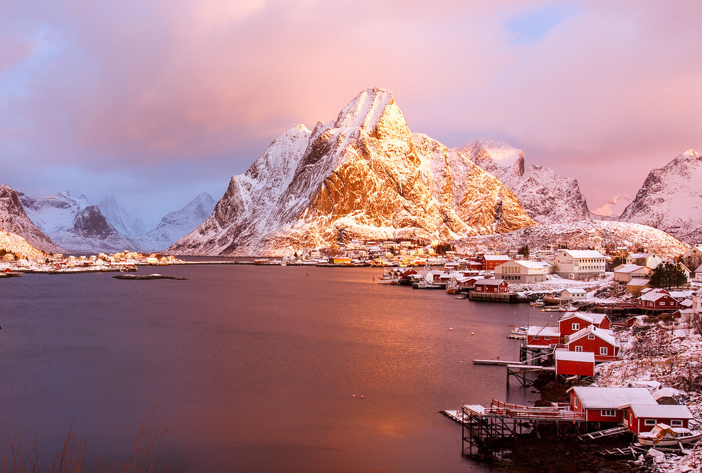 Golden Hour at Reine, Norway
