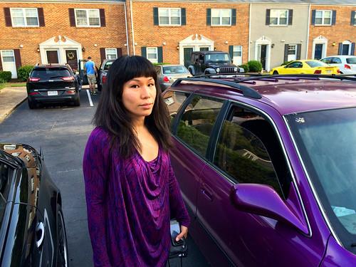 Ana Purple Goddess (August 4 2015)