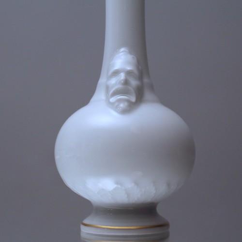 kpm berlin flaschenvase vase miniaturvase masken mask flickr. Black Bedroom Furniture Sets. Home Design Ideas