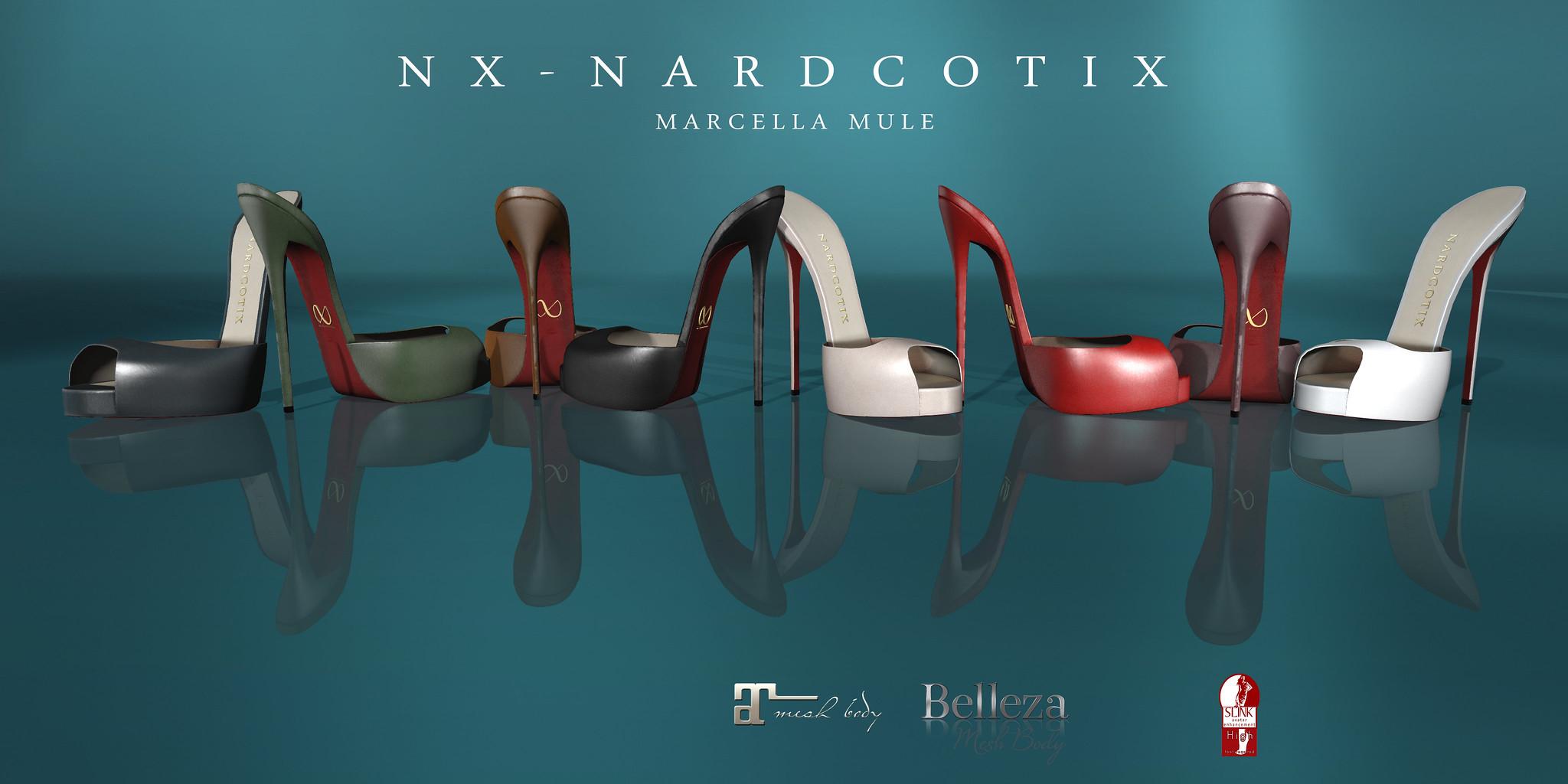 NX-Nardcotix Marcella Mule Poster