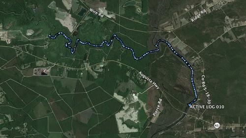 Edisto River Track