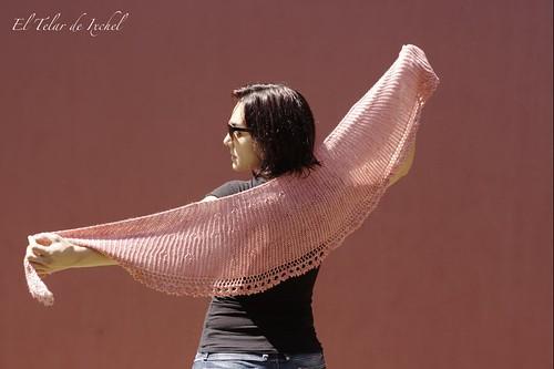 Wraptastic shawl