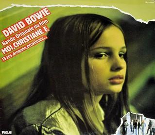 """DAVID BOWIE - Moi, Christiane F. droguee, prostituee, Bande Originale de Film 12"""" LP VINYL"""
