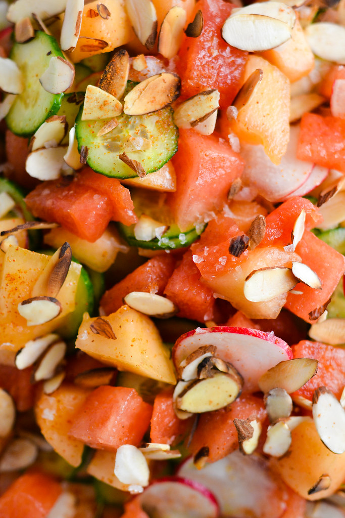 Melon and Cucumber Salad | Things I Made Today