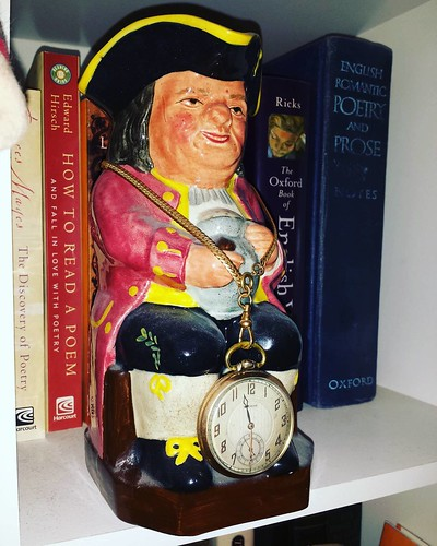 Toby mug V: I've had this guy for several years, but for completeness's sake, here he is! #antiquing