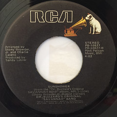 DR. BUZZARD'S ORIGINAL SAVANNAH BAND:CHERCHEZ LA FEMME(LABEL SIDE-B)