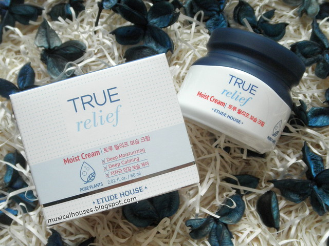 Etude House True Relief Review Moist Cream