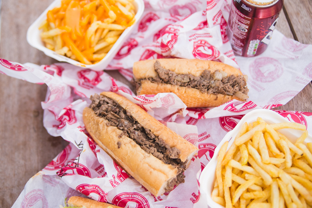 London's best Philly Cheesesteak, Liberty Cheesesteak Company