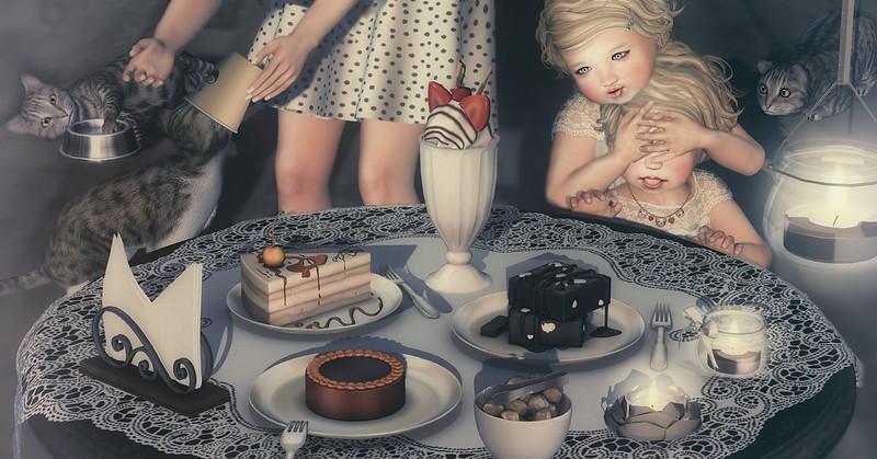 Amelie et les petites: Gluttony