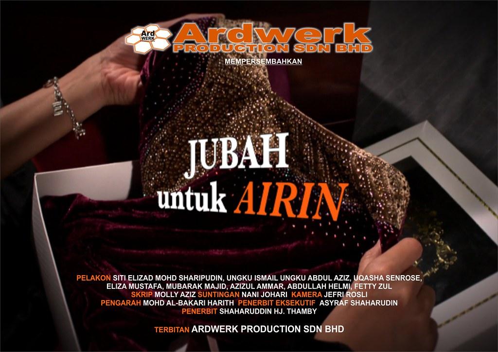 Poster drama Jubah Untuk Airin