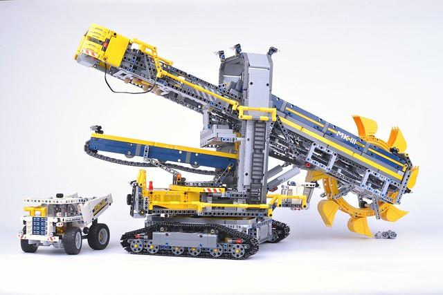 Bucket Wheel Excavator BRAND NEW LEGO Technic Instruction Manual 42055