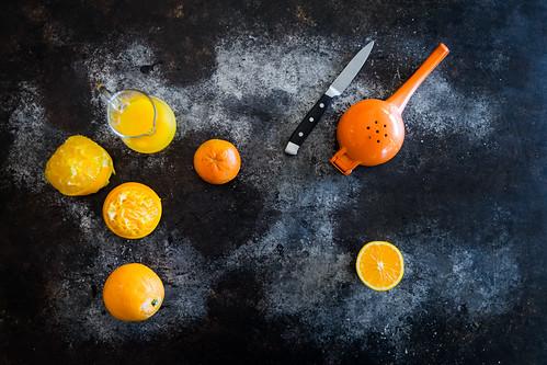 sweet juicy oranges