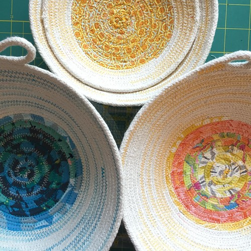 Rope bowls by Poppyprint