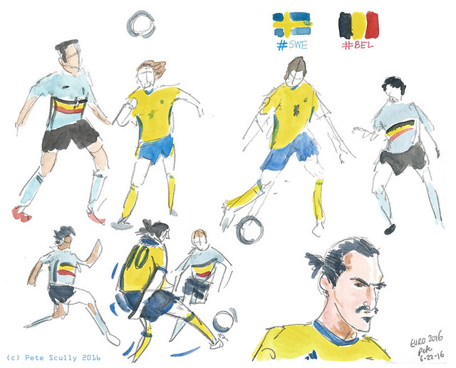 Euro 2016 BEL-SWE