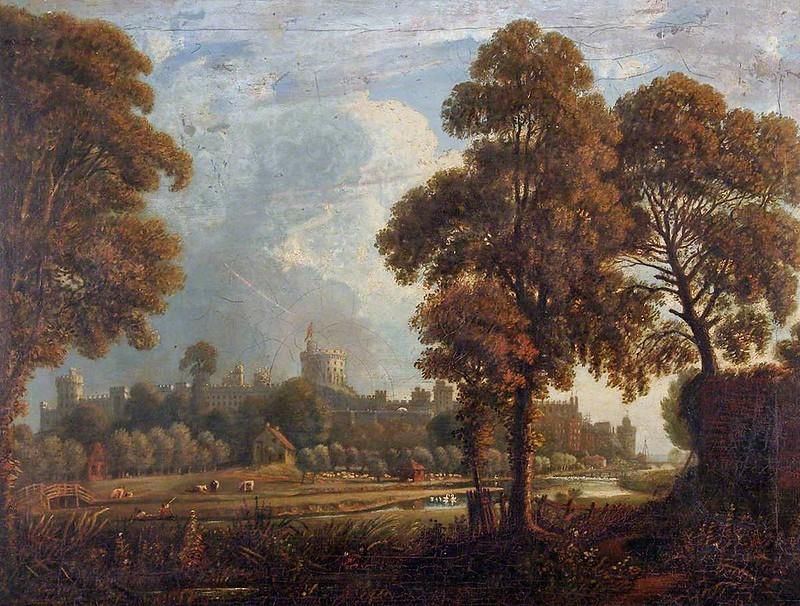 William Crotch - Windsor Castle, Windsor and Maidenhead