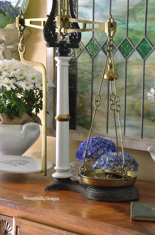 Antique Scale - Housepitality Designs