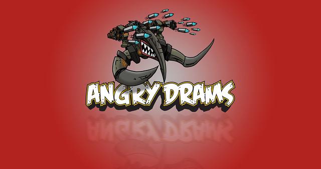 Angry Drams Wallpaper