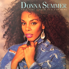DONNA SUMMER:THIS TIME I KNOW IT'S FOR REAL(JACKET A)